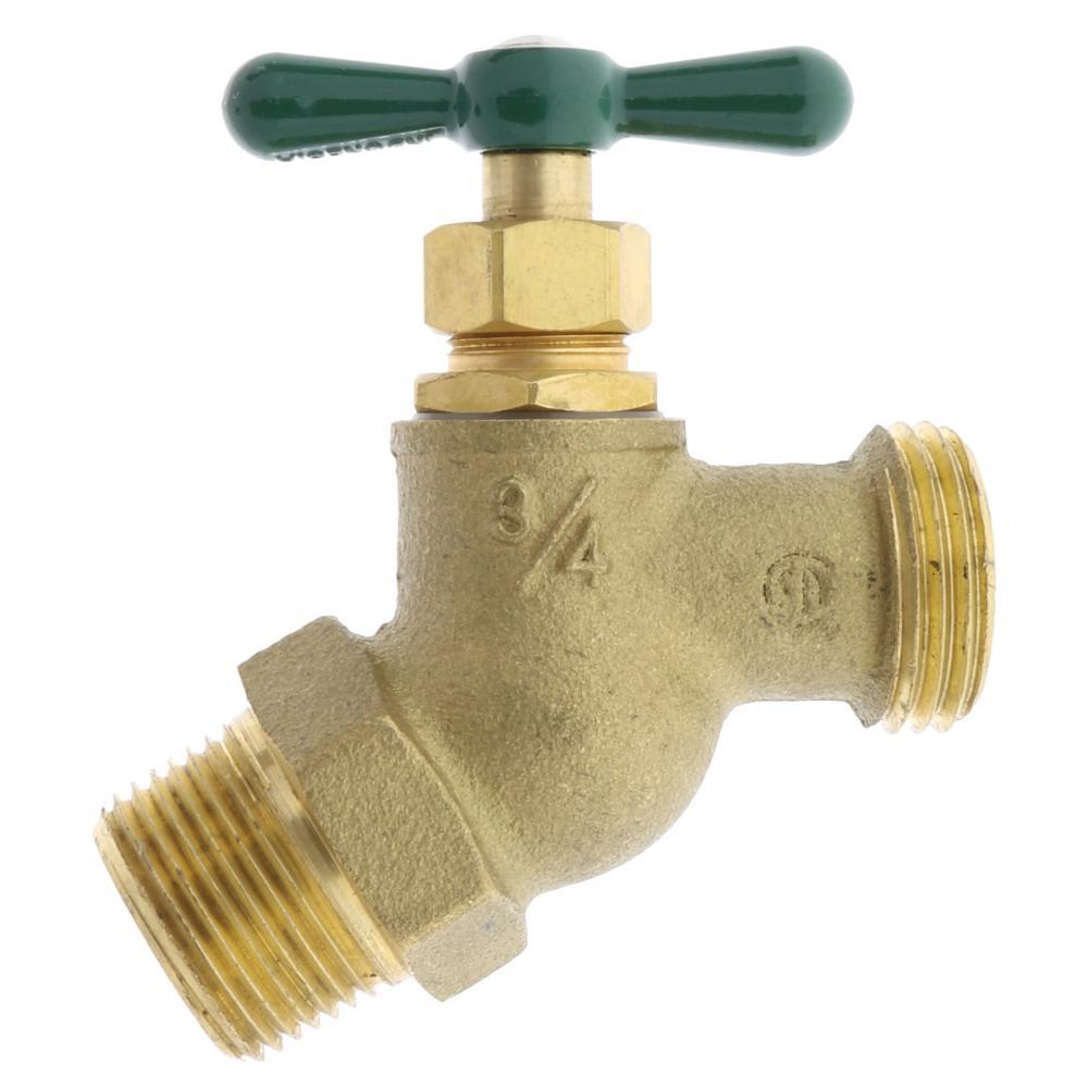 Aqualine MPT X MHT Brass Hose Bibb (Lead Free)