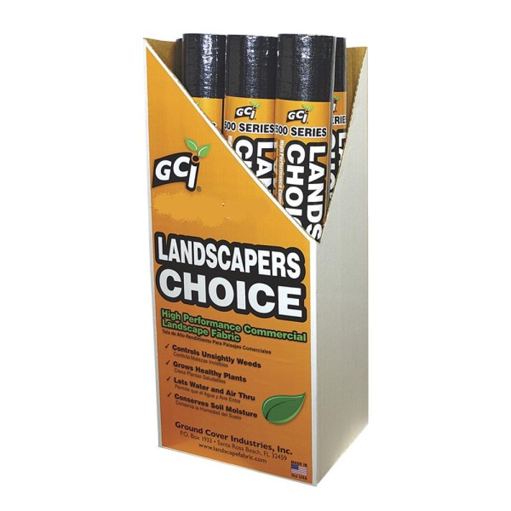Landscaper\'s Choice Premium 5oz. Woven Landscape Fabric by GCI