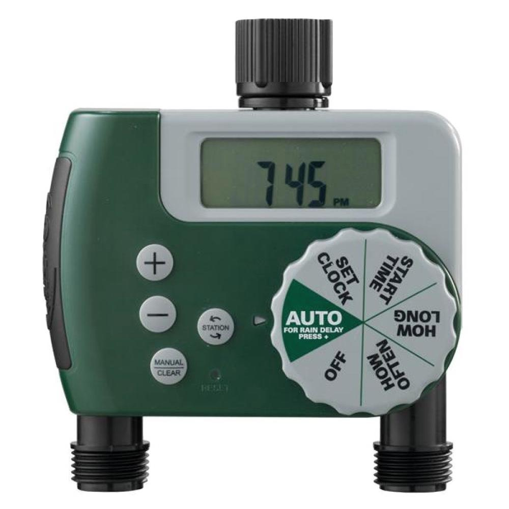 Orbit 2 Outlet Digital Watering Timer