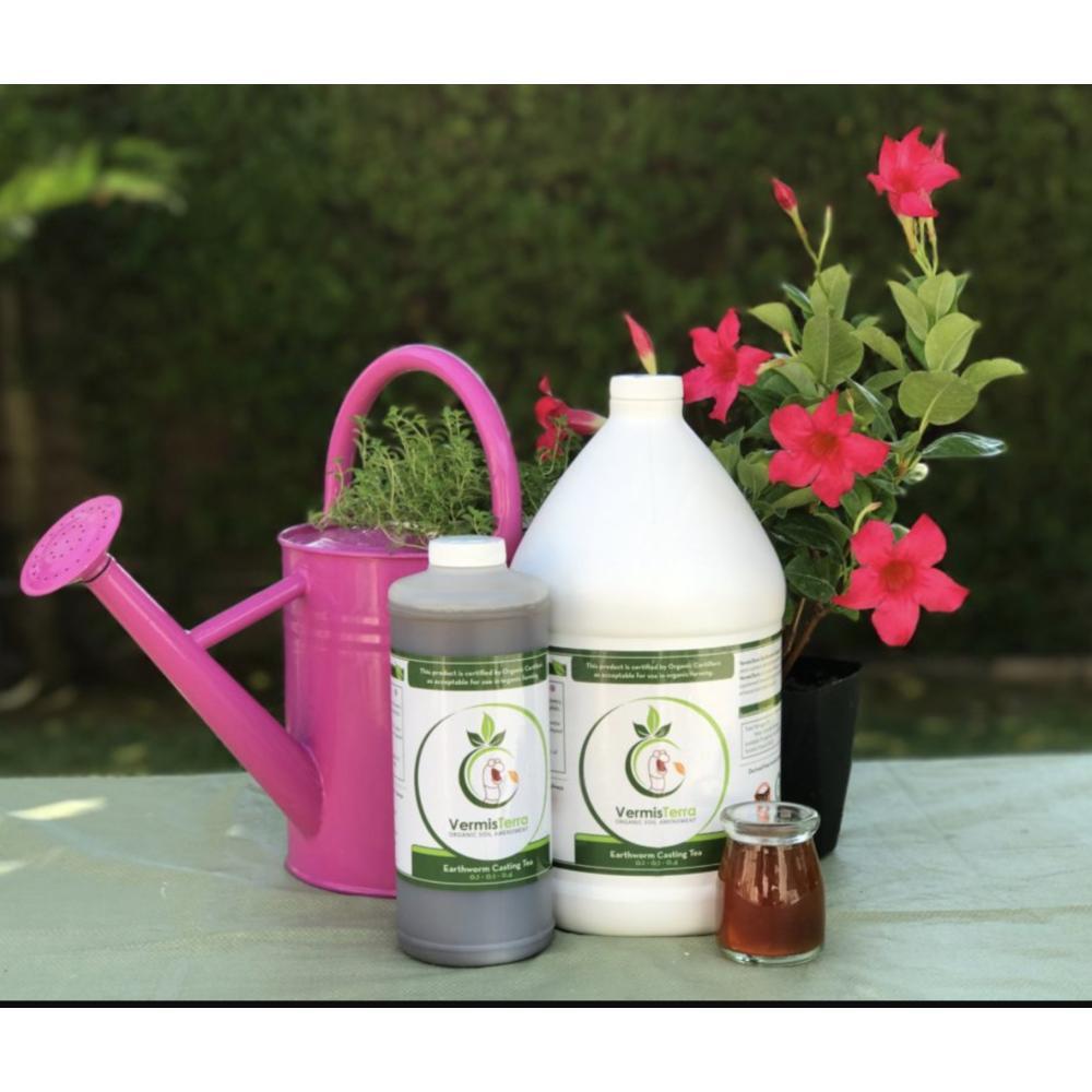 Organic VermisTerra Earthworm Casting Tea