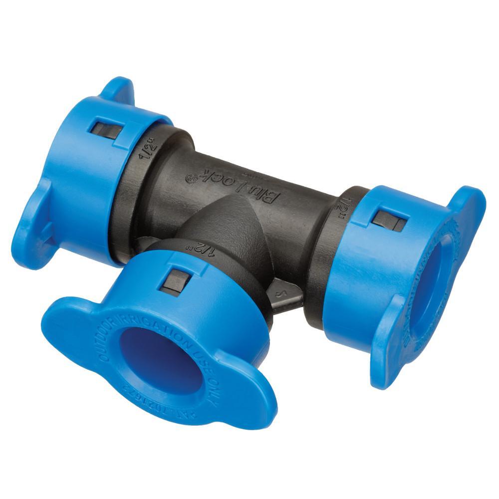 """HydroRain 1/2\"""" Blu-Lock Tee"""