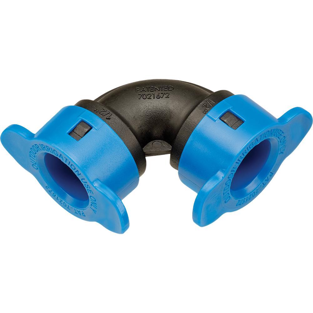 """HydroRain 1/2\"""" Blu-Lock Elbow"""