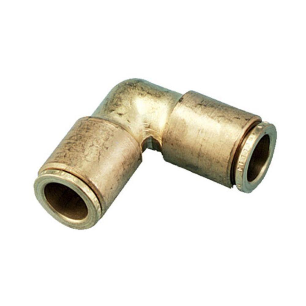 "Orbit 3/8\"" Brass Slip-Lok Elbow-90 Degree"