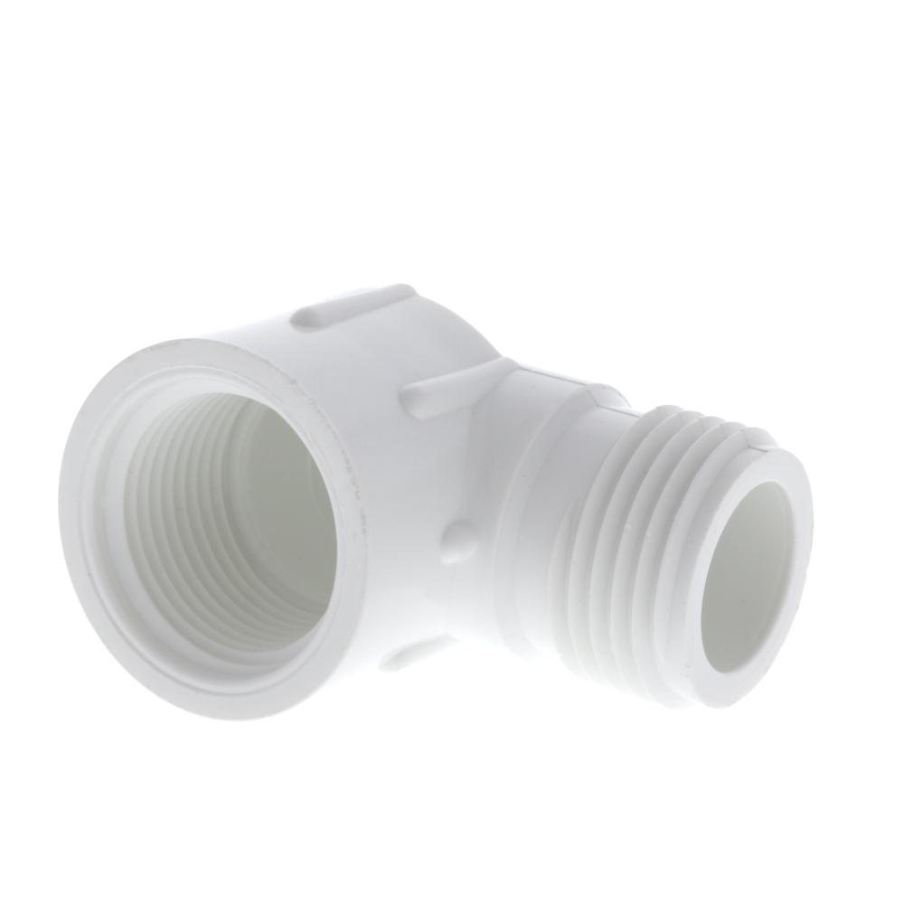 Dura Schedule 40 PVC FPT x MHT Elbow Adapter
