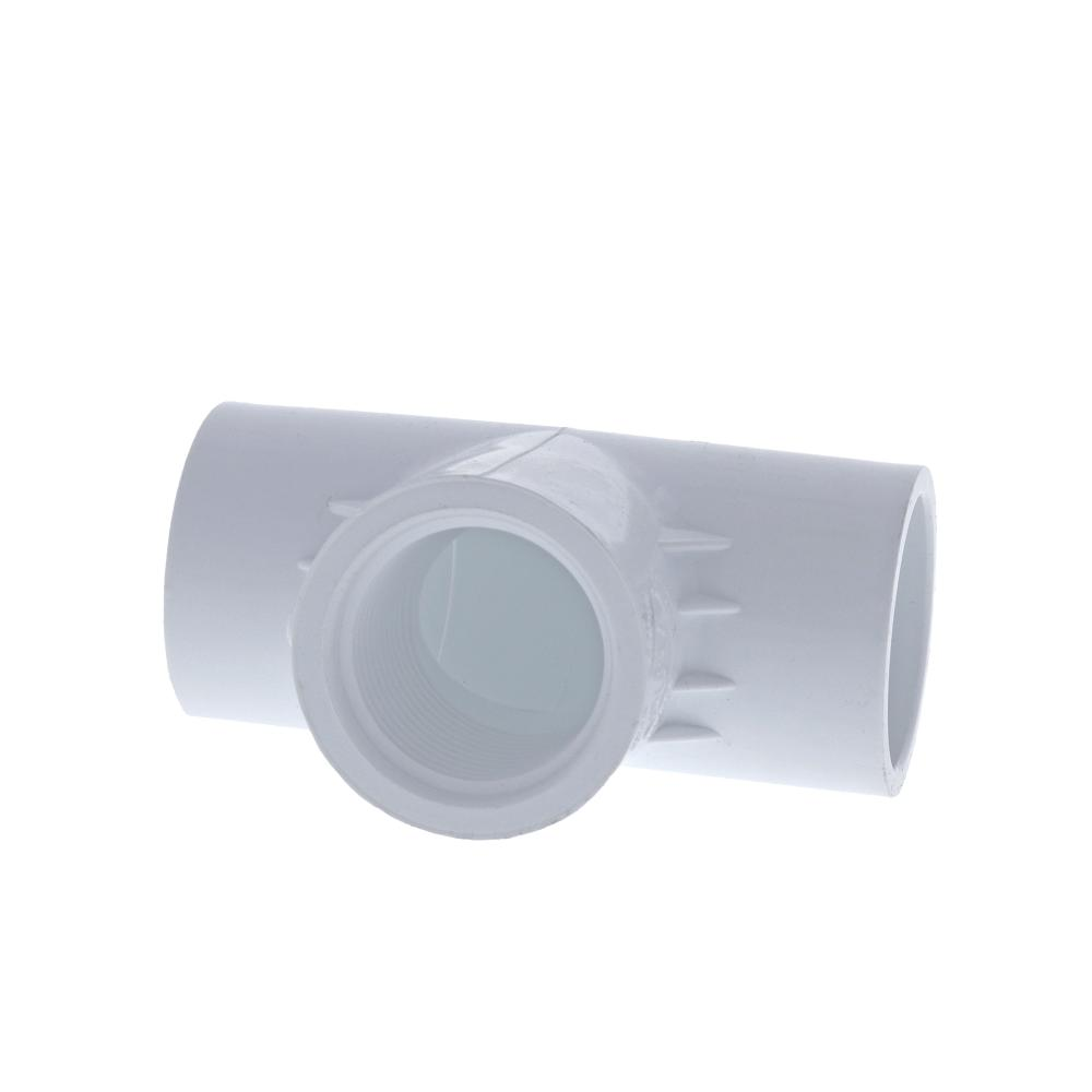 Schedule 40 PVC Slip x FPT Tee Adapter