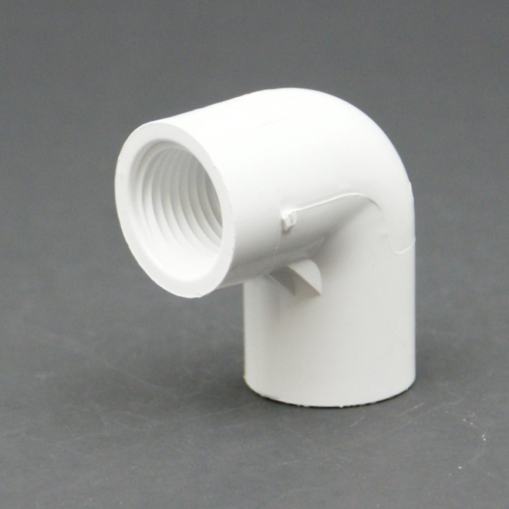 Dura PVC Schedule 40 FPT x Slip Elbow Adapter-1027