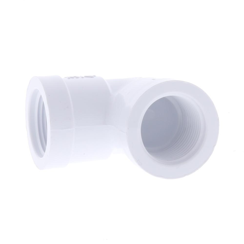 Schedule 40 PVC FPT Elbow
