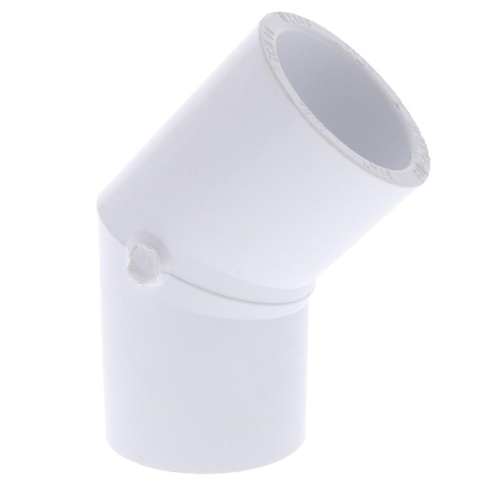Dura Schedule 40 PVC 45 Degree Slip Elbow