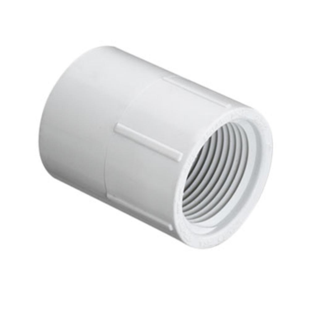 PVC Schedule 40 FPT x Slip Adapter