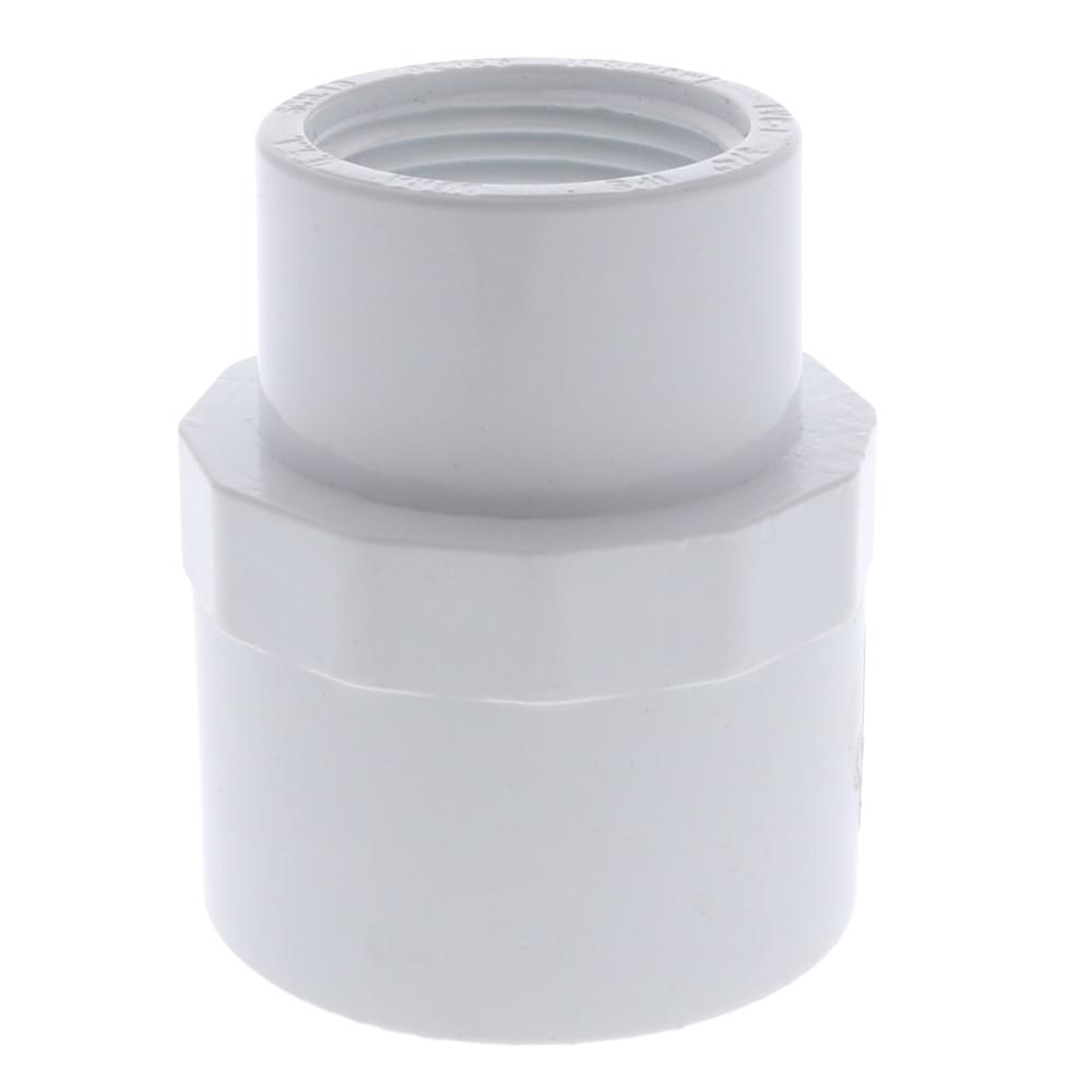 Dura Schedule 40 PVC Reducing Adapter - Slip x FPT