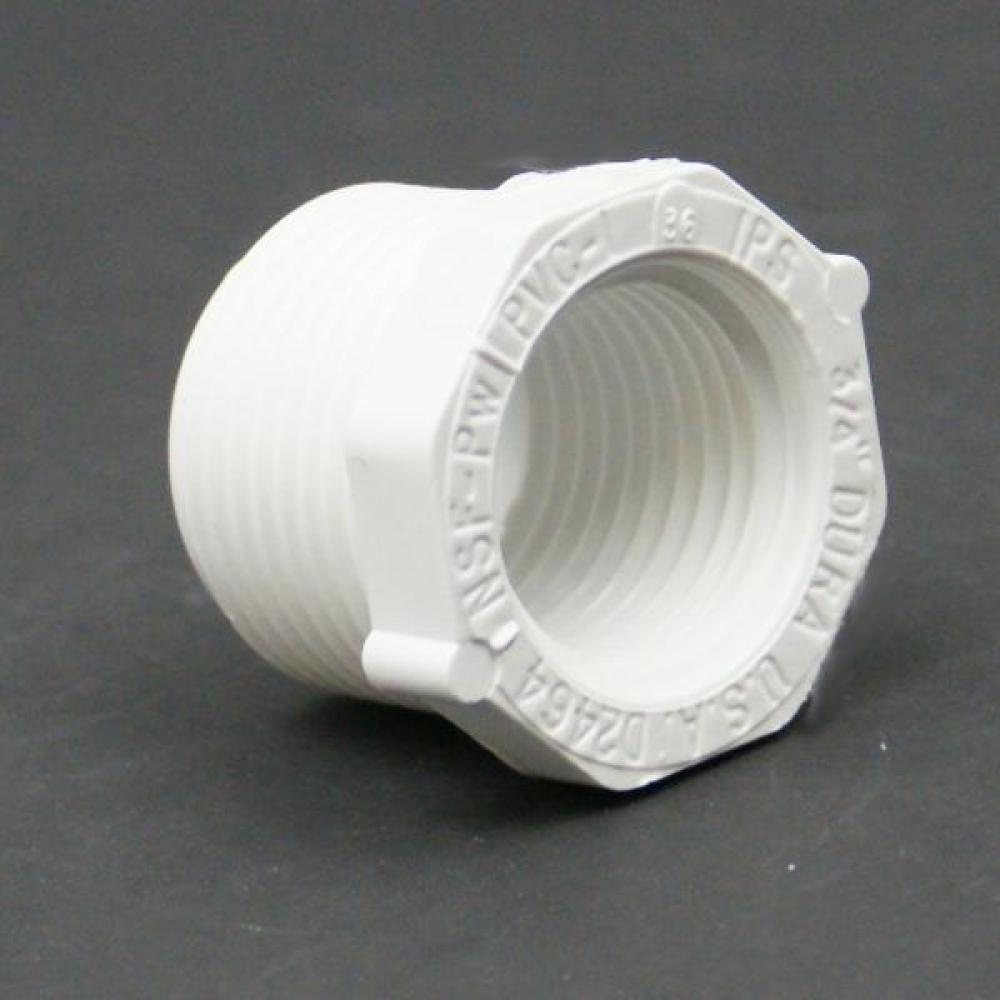 PVC Schedule 40 FPT x MPT Bushing Adapter