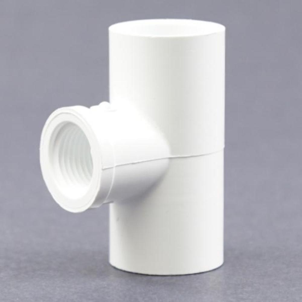 PVC Schedule 40 Slip X Slip X FPT Tee Adapter