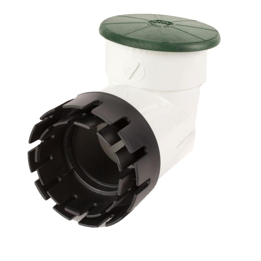"Tempo Pop-Up Valve with 4"" Elbow Green and Adapter"
