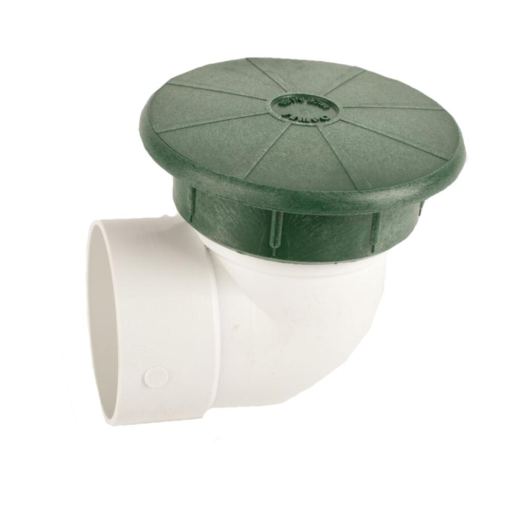 "Pop-Up Valve Drainage Emitter w/ 3"" Elbow"