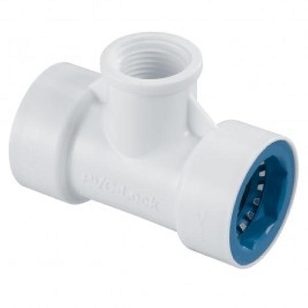 PVC-Lock Combination Tee