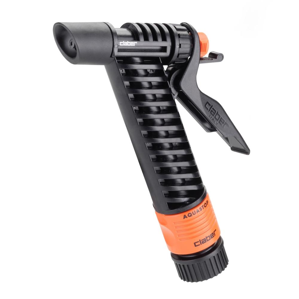 Claber Trigger Action Garden Hose Spray Nozzle