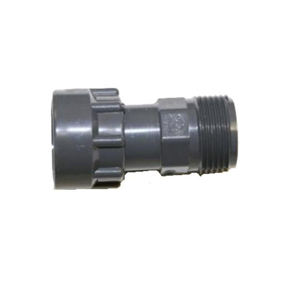 "Dura Manifold System Adapter: 1"" FPT Swivel x 1\"" MPT"