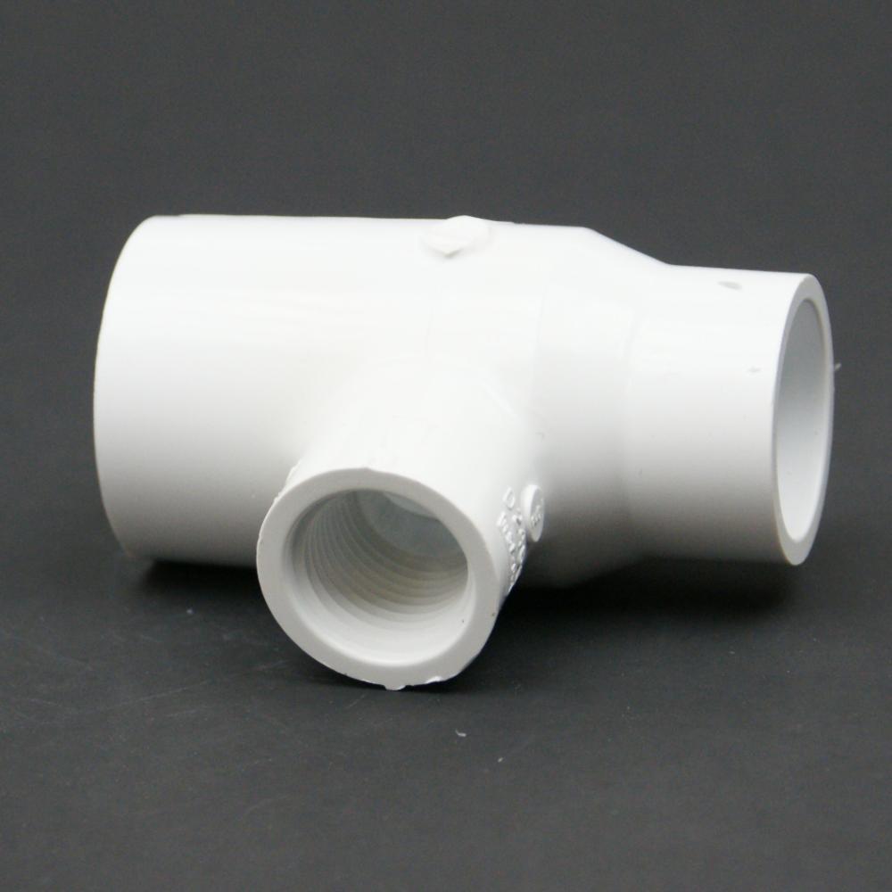 PVC Schedule 40 FPT x Slip Tee Reducing Adapter