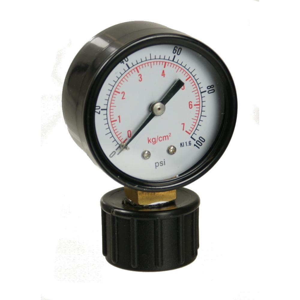"Dry Pressure Gauge w/ 3/4\"" FHT Mount"