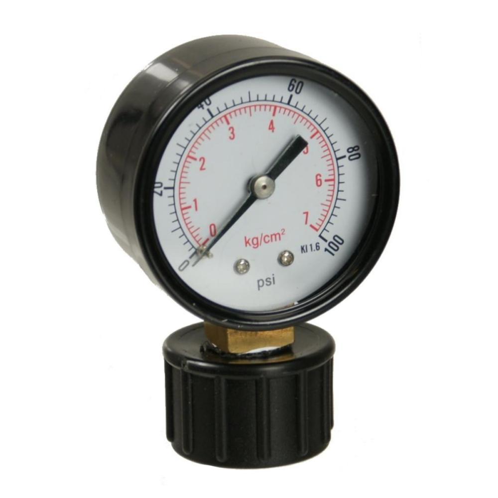"Irritec Dry Pressure Gauge w/ 3/4\"" FHT Mount"