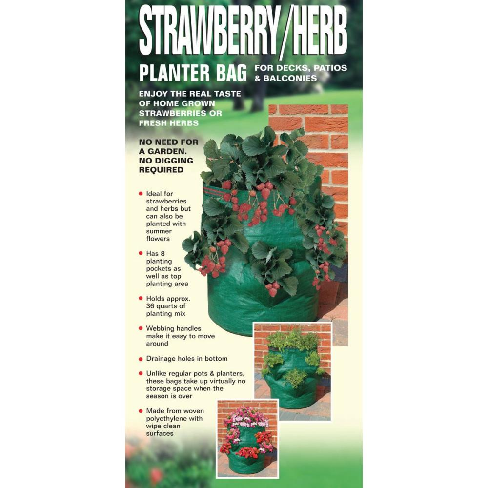 Bosmere Strawberry / Herb Planter Bag