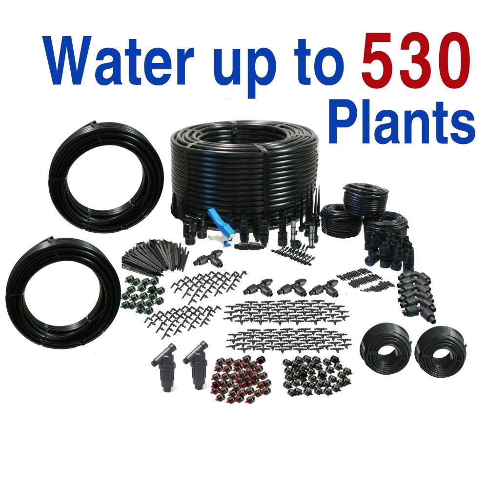 Ultimate Drip Irrigation Kit for Vegetable Gardens