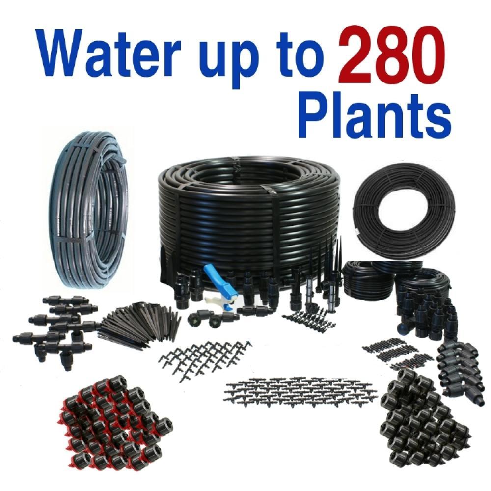 Premium Drip Irrigation Kit for Vegetable Gardens