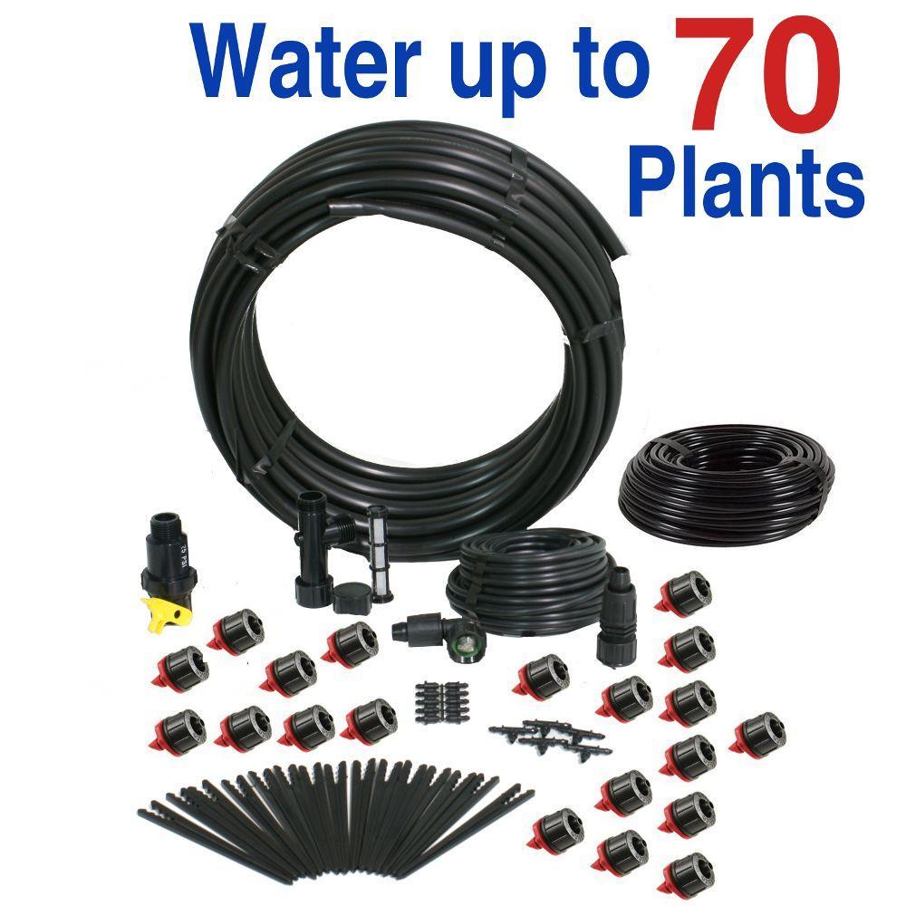 Basic Drip Irrigation Kit for Vegetable Gardens