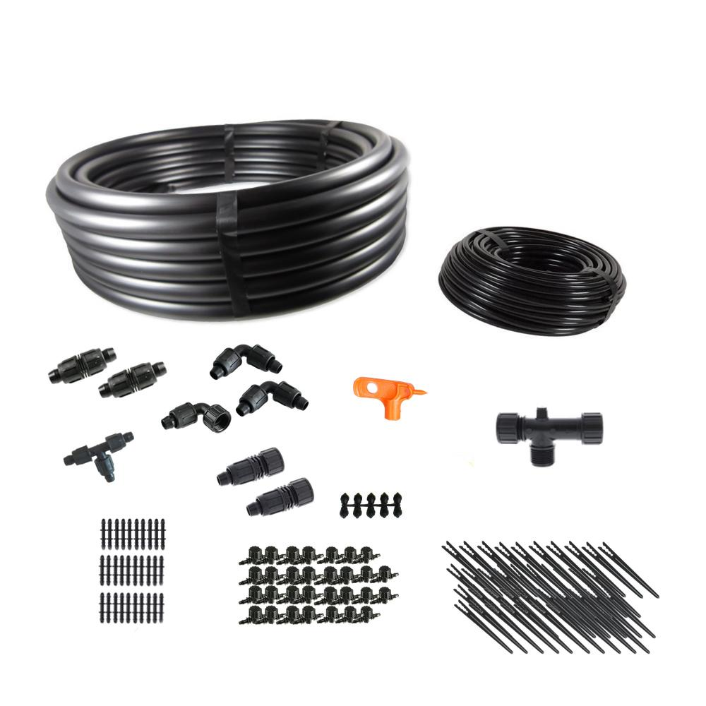 Deluxe Gravity Feed Drip Irrigation Kit for Dirty Water