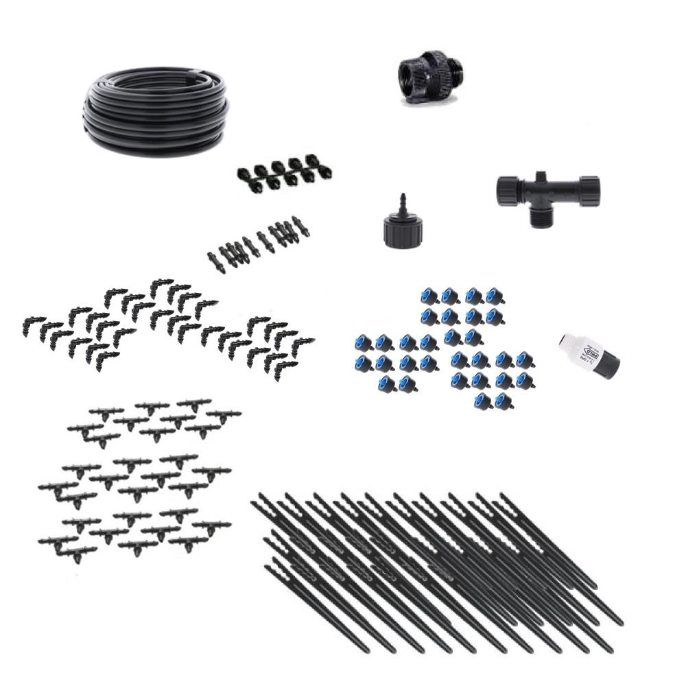 Deluxe Drip Irrigation Kit for Container Gardening