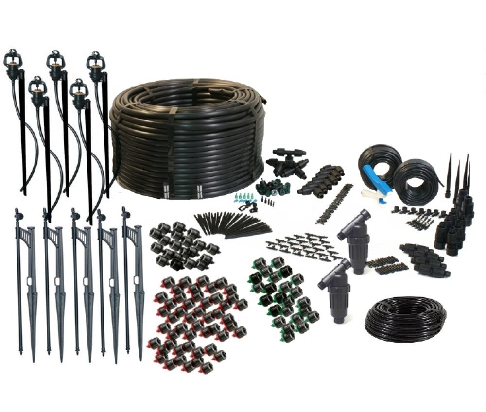 Ultimate Drip Irrigation and Micro-sprinkler Kit for Landscapes