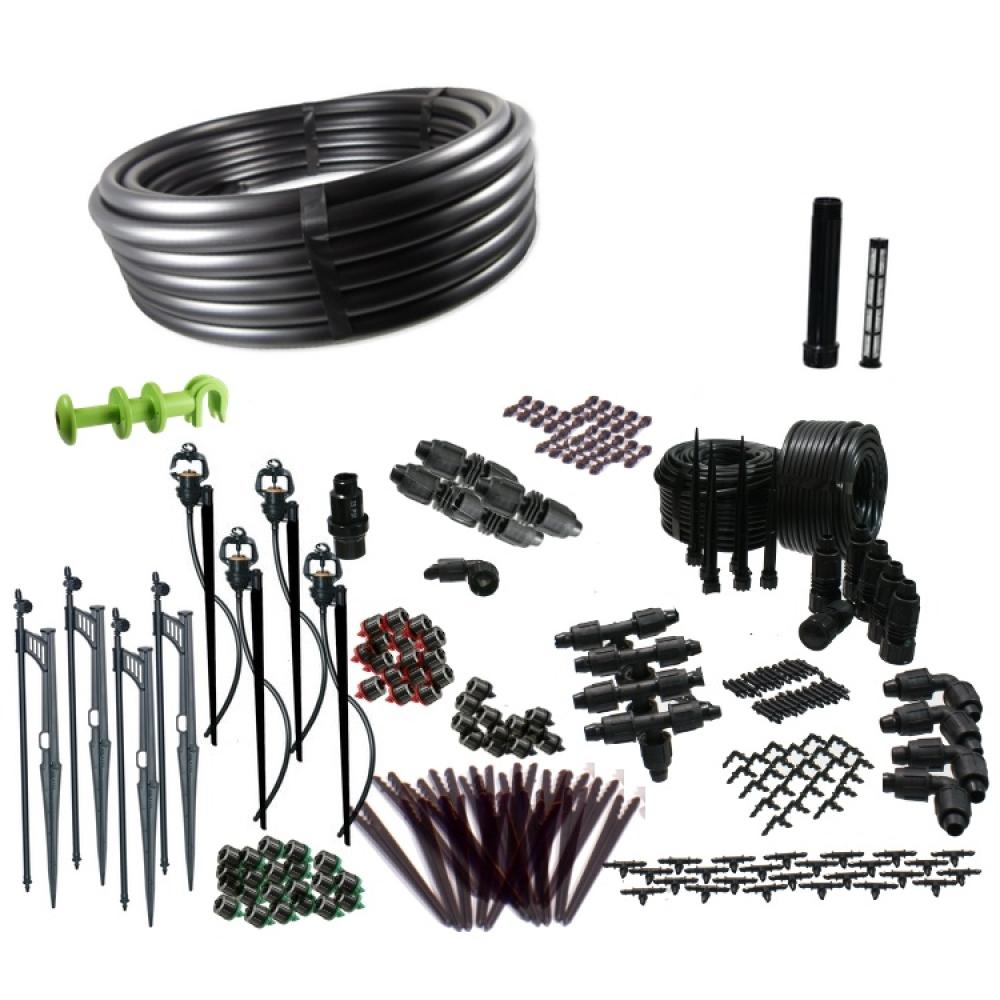 Premium Drip Irrigation and Microsprinkler Kit for Landscapes