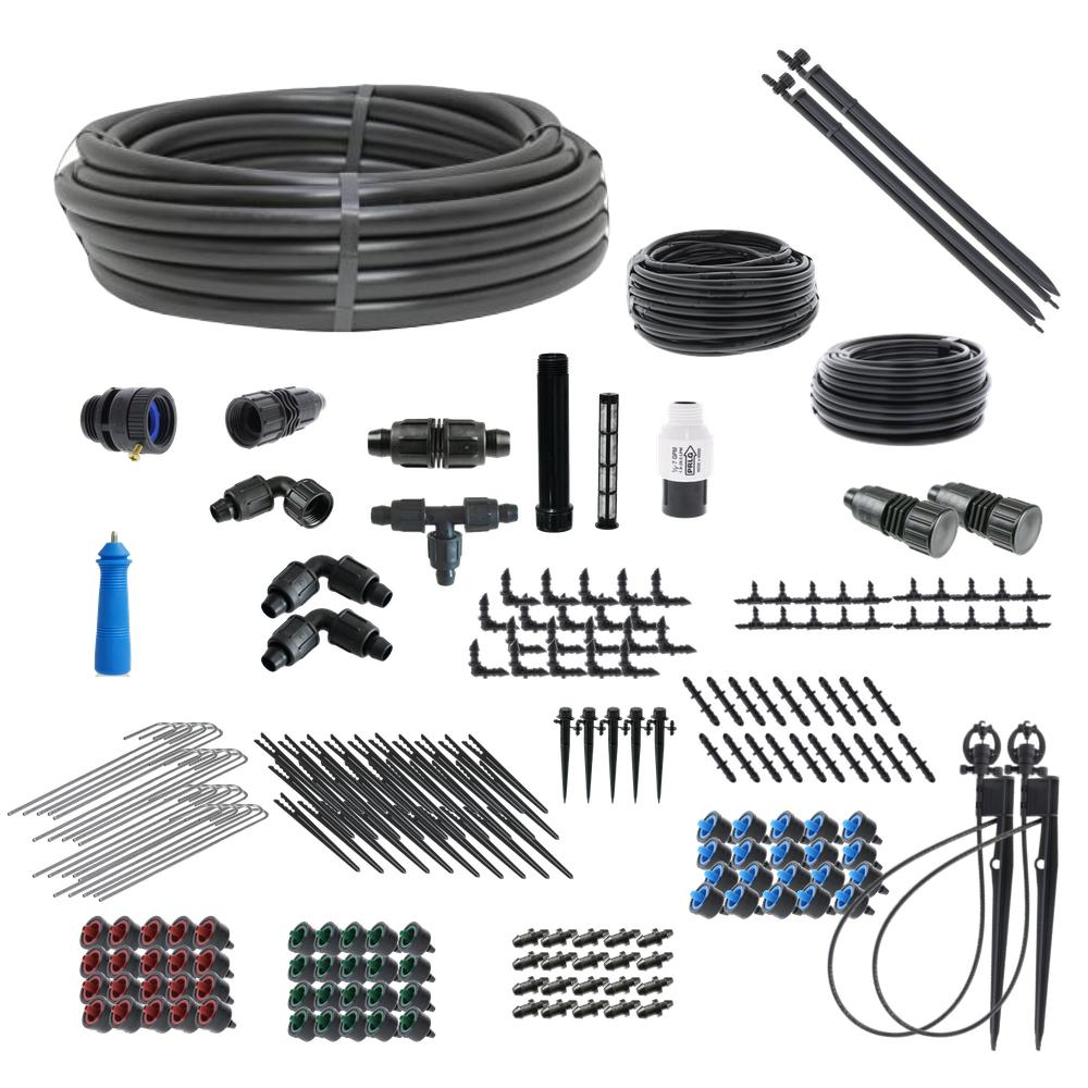 Standard Drip Irrigation and Microsprinkler Kit for Landscapes