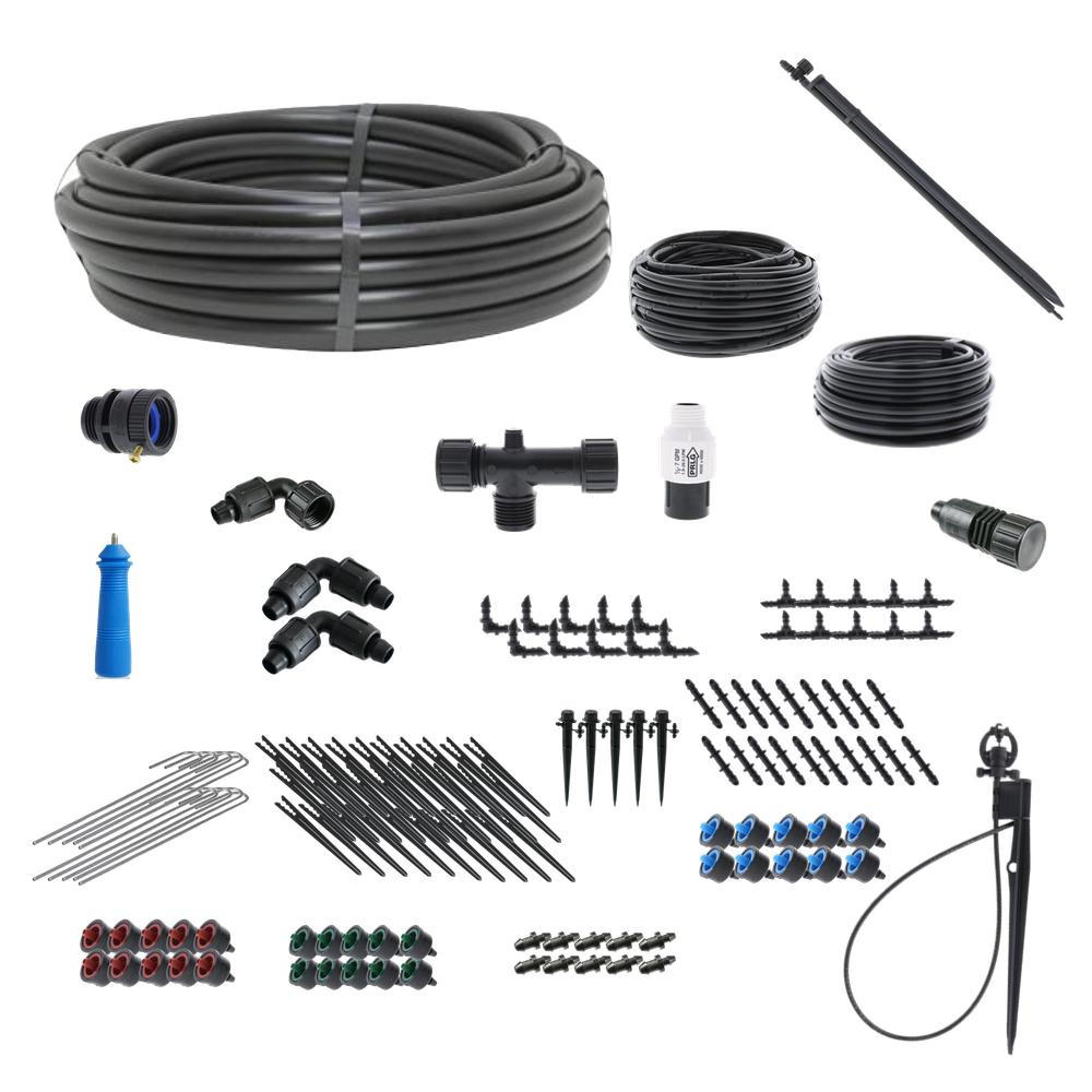 Basic Drip Irrigation and Microsprinkler Kit for Landscapes