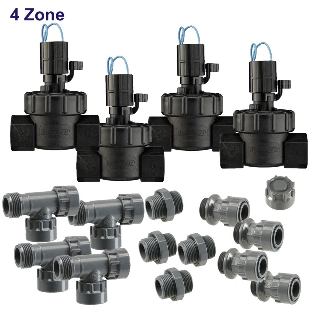 "4 Zone 24 VAC 1"" Manifold Kit"