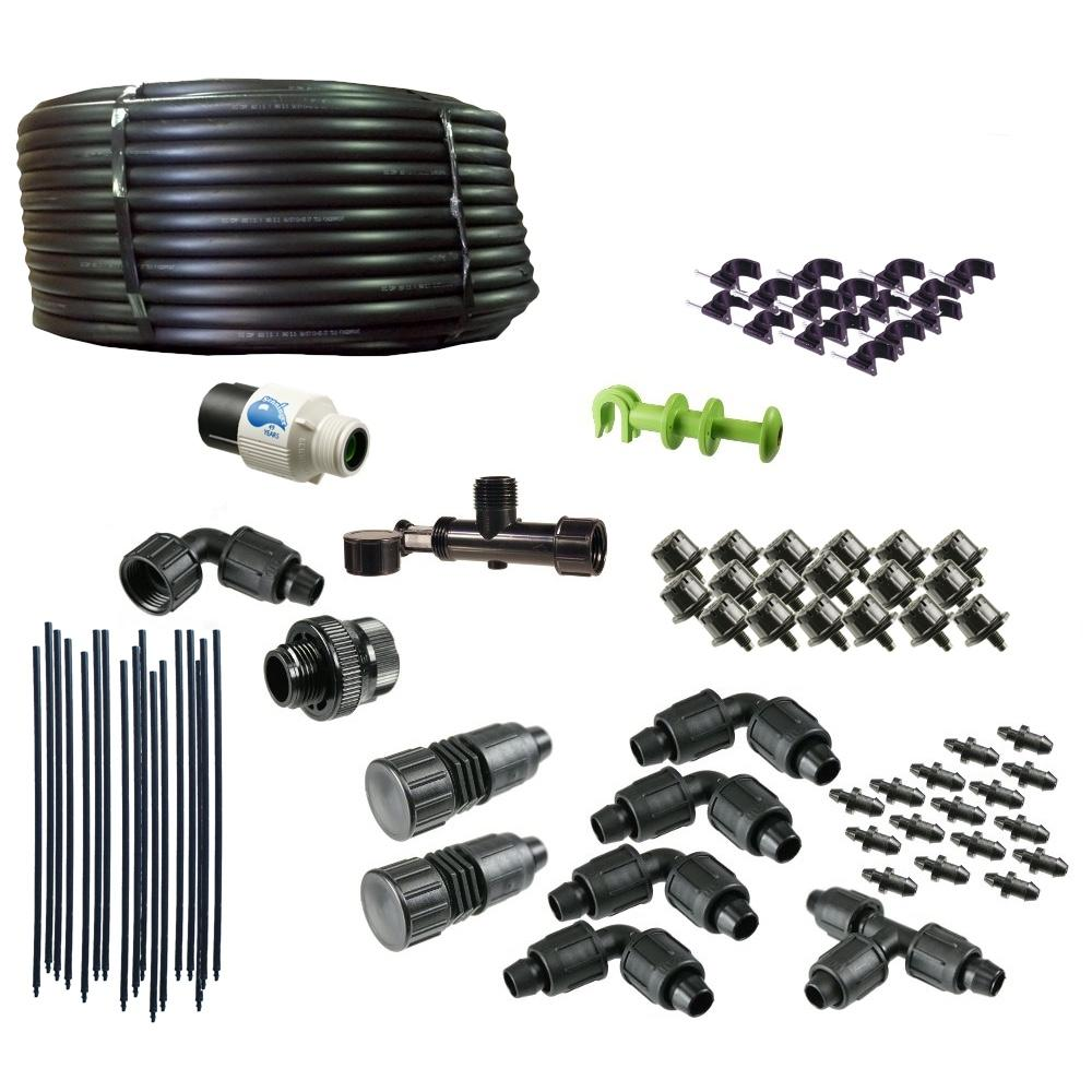 Deluxe Drip Irrigation Kit for Hanging Baskets