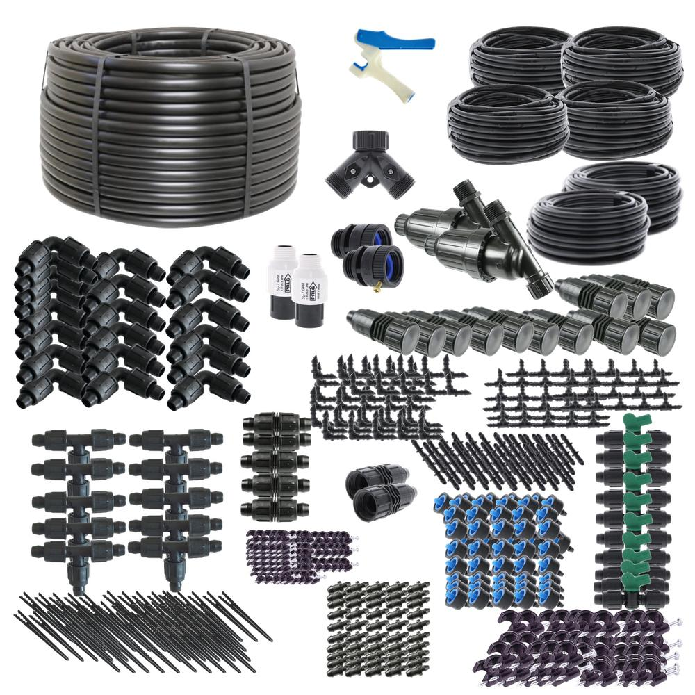 Ultimate Drip Irrigation Kit for Raised Bed Gardening