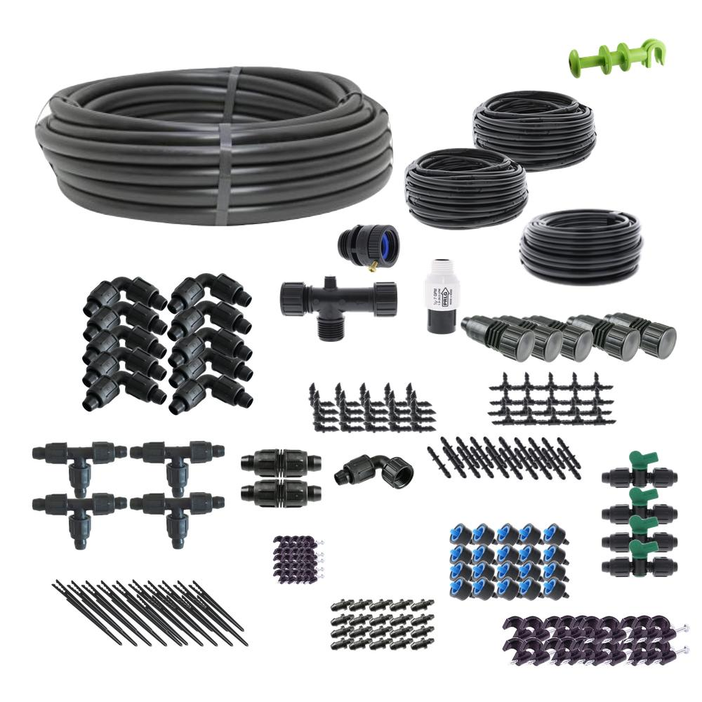 Standard Drip Irrigation Kit for Raised Bed Gardening