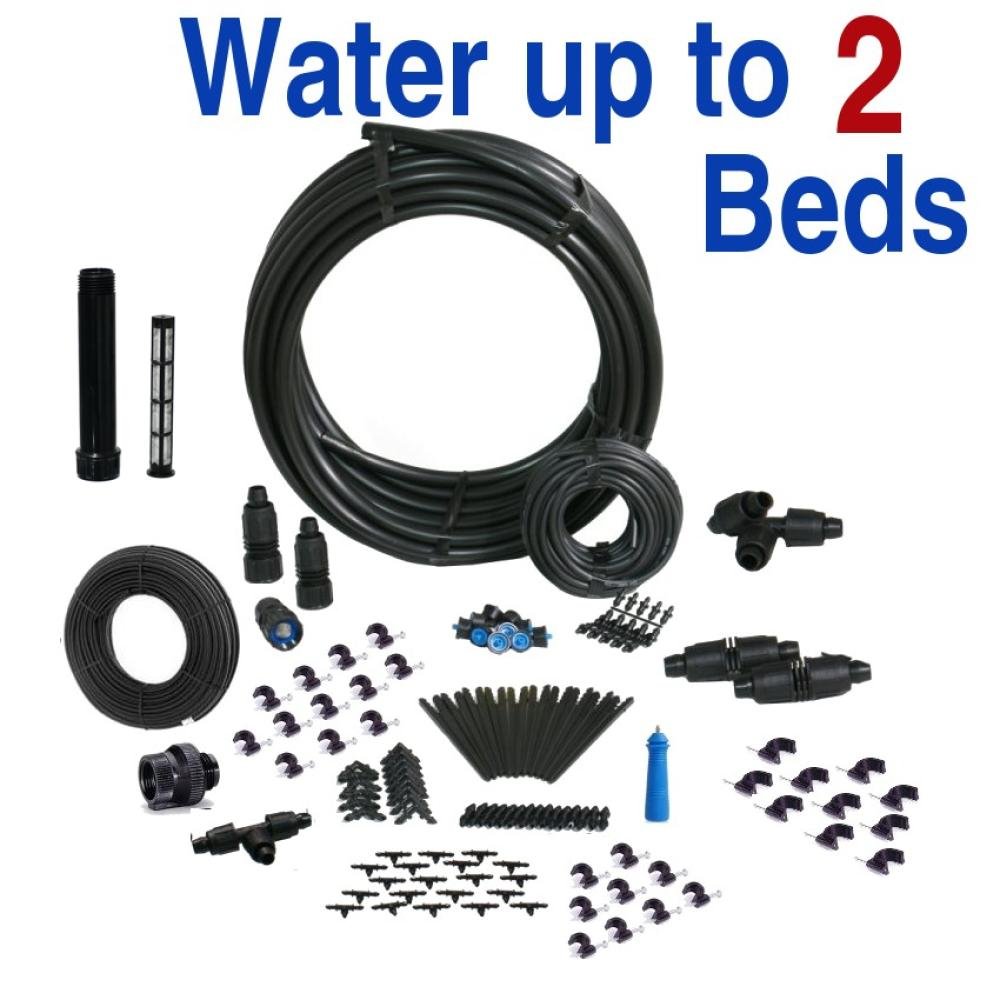 Basic Drip Irrigation Kit for Raised Bed Gardening