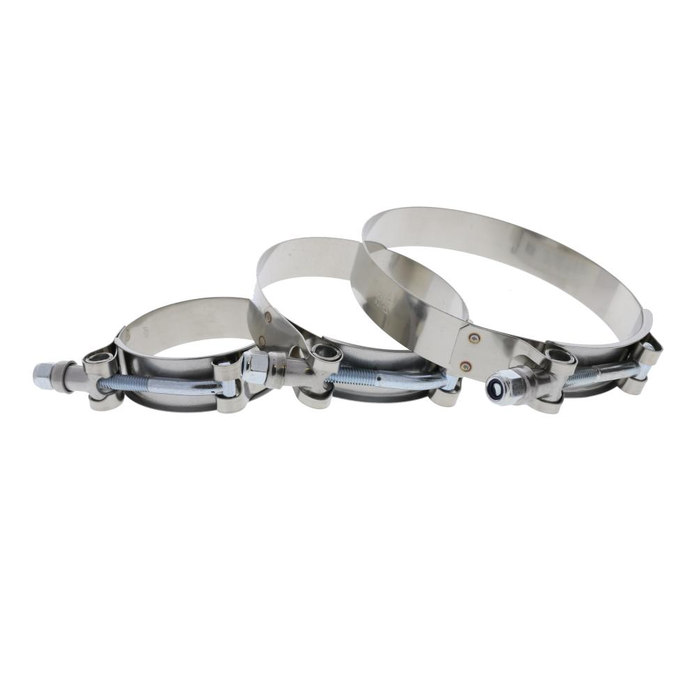 T-Bolt Stainless Steel Clamps