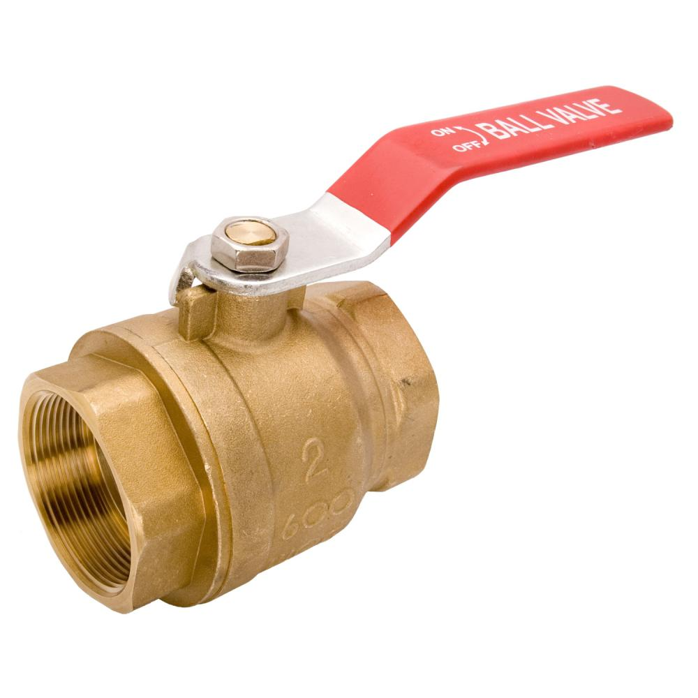Full Port NPT Threaded Brass Ball Valve