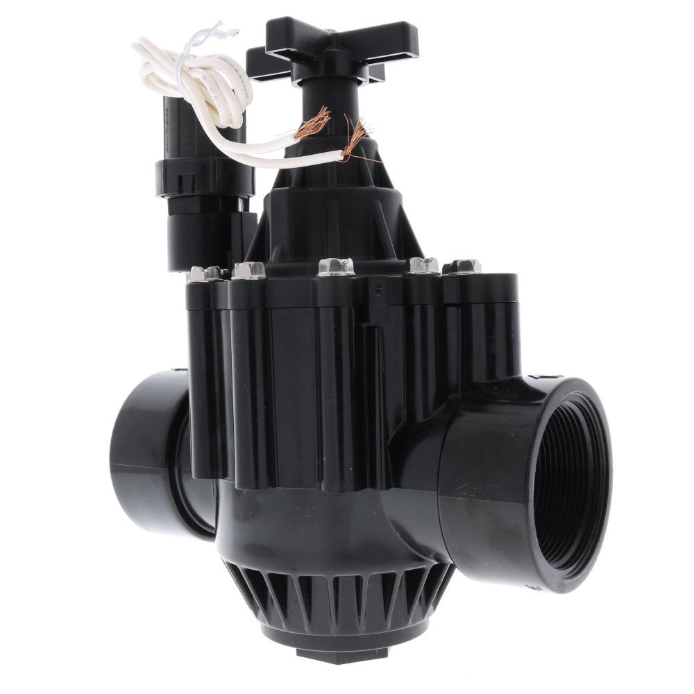 RainBird PGA Inline Plastic Residential/Commercial Irrigation Valve