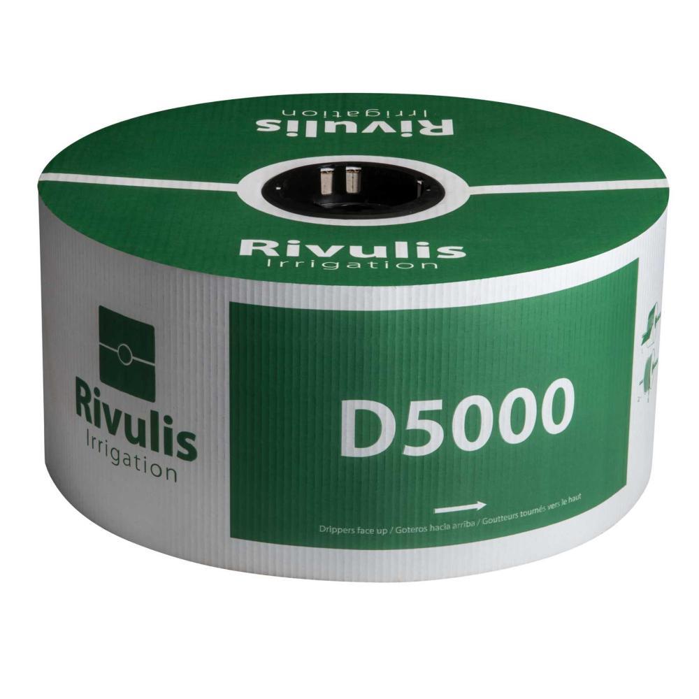"""Rivulis D5000 Flow Regulated 5/8\"""" Drip Tape"""
