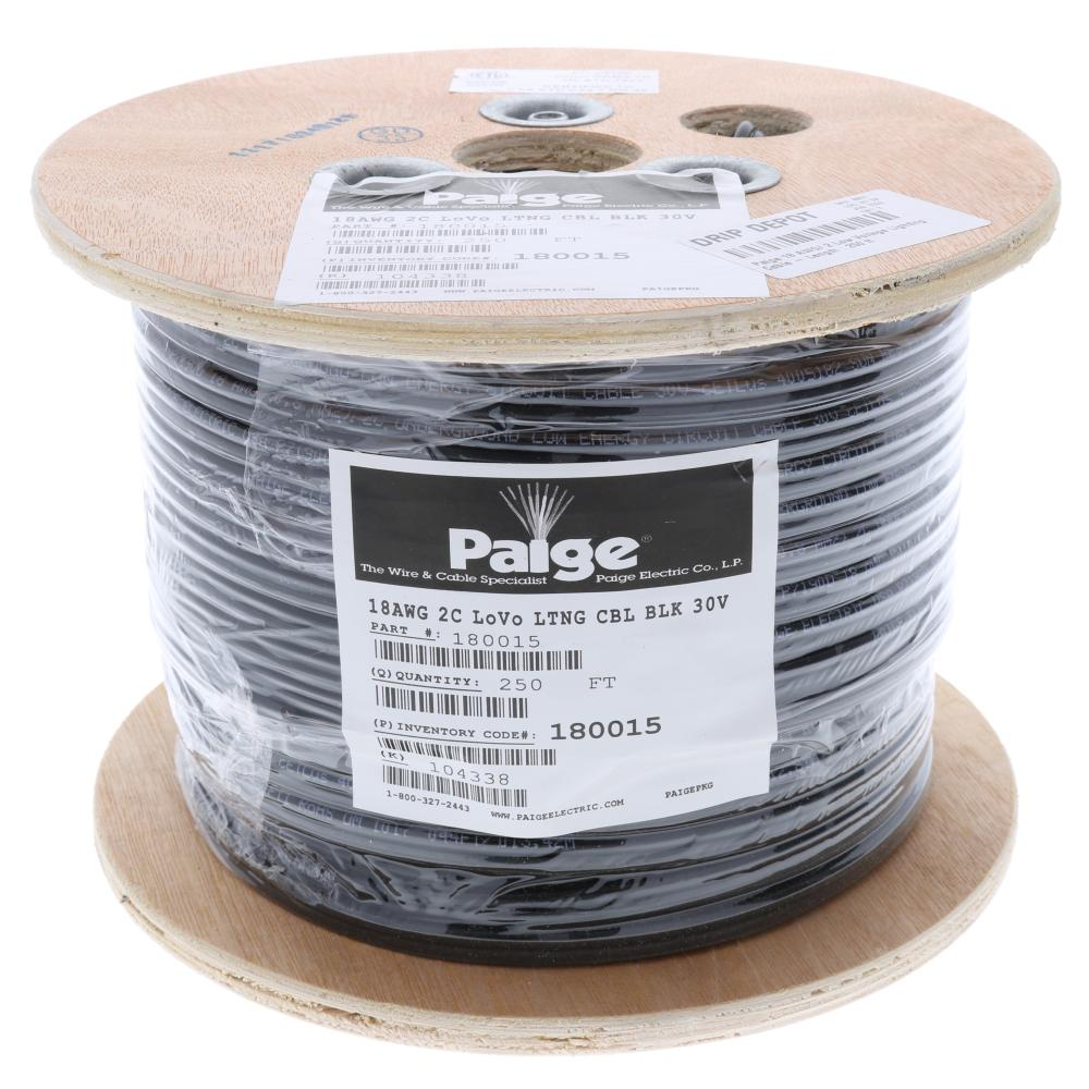 Paige 18 AWG/ 2 Low Voltage Lighting Cable - Length : 250 ft