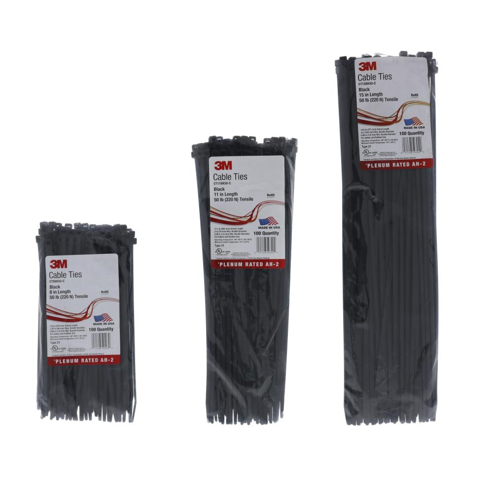 3M Cable Ties Bags of 100 by Paige