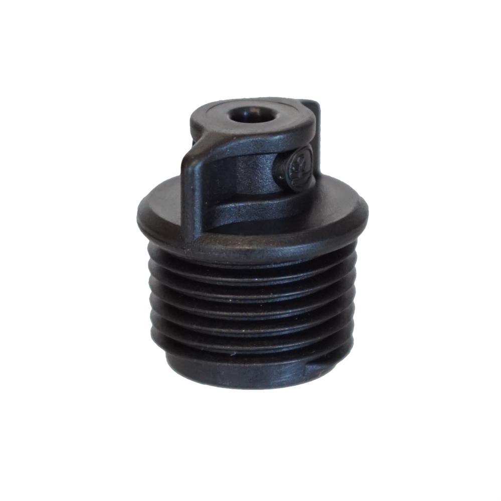 "Antelco 1/2"" MPT X 10-32 UNF Threads Adapter"