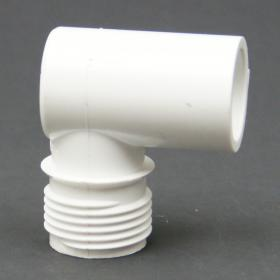 PVC Schedule 40 MHT x Slip Elbow Adapter