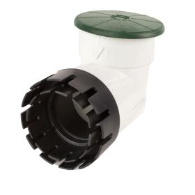 "Pop-Up Valve with 4"" Elbow Green and Adapter"