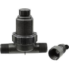 Hydro-Rain Filter and 40 PSI Regulator in One