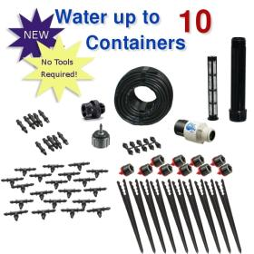 Standard Drip Irrigation Kit for Container Gardening